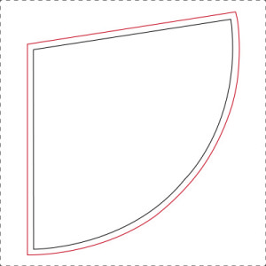 Drawing the cone pattern 5