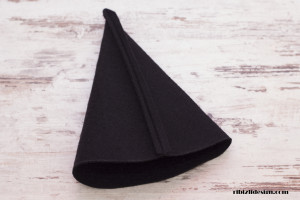 Halloween Witch Hat Sewing